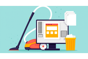 Magento 2 - clean up files before backup